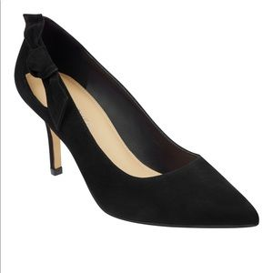 Marc Fisher Thunder Knotted Suede Pump